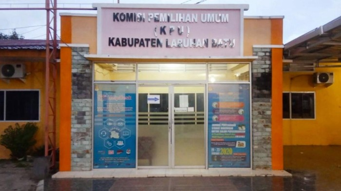 KPU Labuhanbatu (Ahmad Fauzi-detikcom)