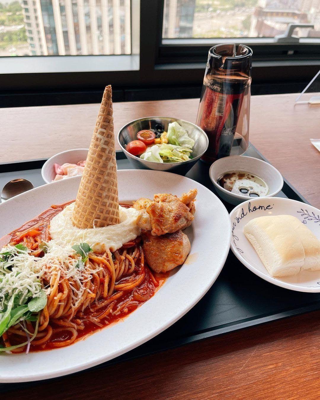 Makanan Mewah di Kantin Agensi BTS