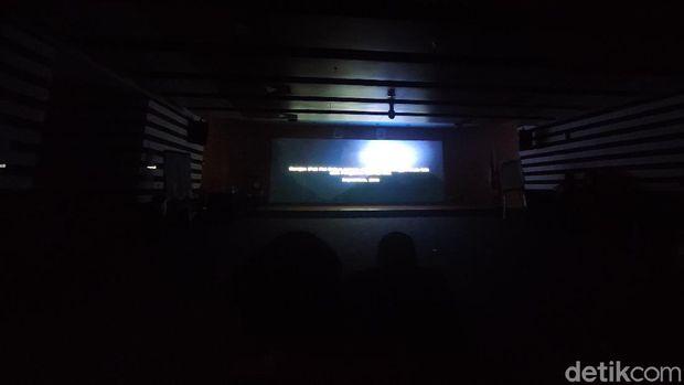 Nobat film dokumenter 'KPK Endgame' di auditorium gedung Anti-Corruption Learning Center (ACLC) KPK