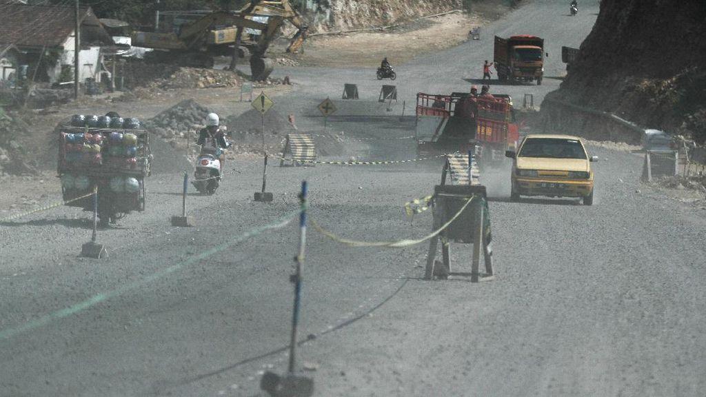 Pembangunan Jalan Nasional Gunungkidul Terus Dikebut