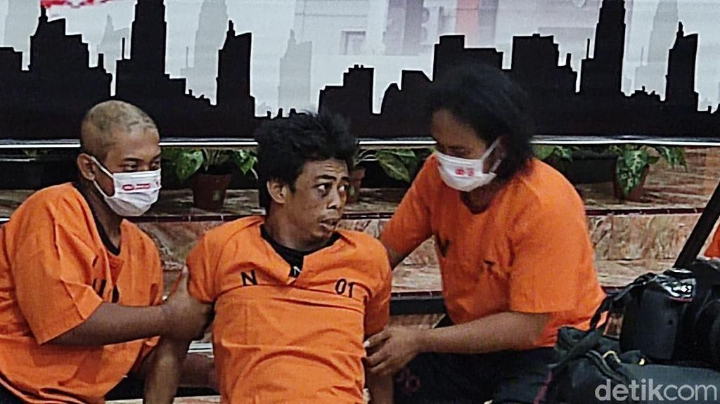 Penampakan Perampok-Pemerkosa Mahasiswi yang Akhirnya Ditahan