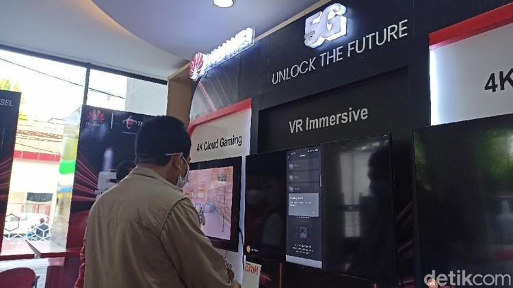 Peresmian Layanan 5G Telkomsel di Surabaya