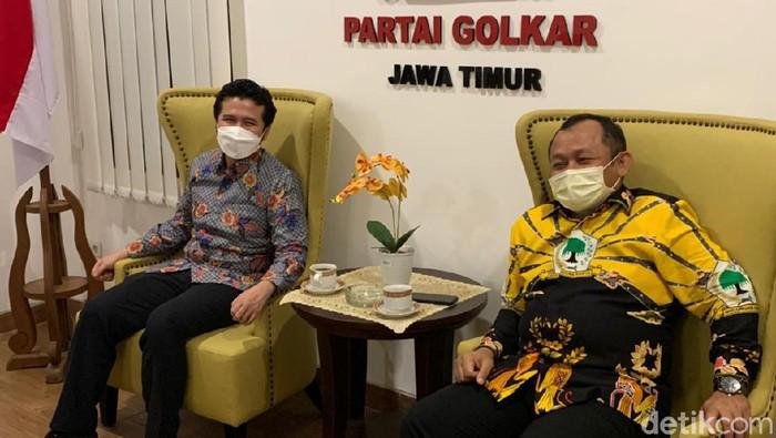 Plt Ketua DPD PD Jatim Emil Elestianto Dardak