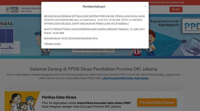 PPDB 2021