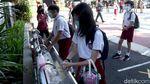 Ratusan Sekolah di Bandung Gelar Simulasi Belajar Tatap Muka