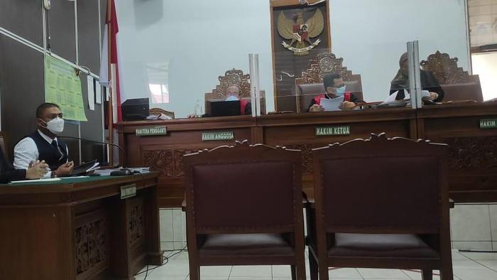 Sidang gugatan Tommy Soeharto terhadap pemerintah (Luqman-detikcom)