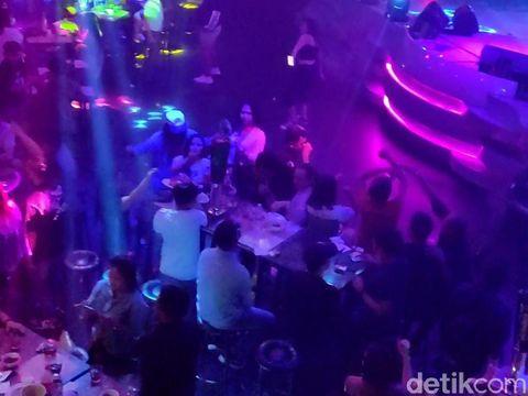 Suasana THM D'Liquid sebelum ditutup Pemkot Makassar (dok. Istimewa).