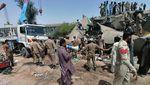Tabrakan Maut Dua Kereta di Pakistan Renggut Puluhan Nyawa