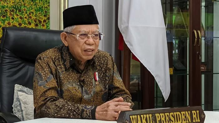 Wakil Presiden Maruf Amin hadir acara bedah buku