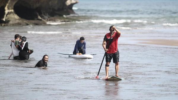 Pantai Baron masih menjadi destinasi andalan lho di Gunungkidul.