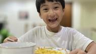 Bikin Gemes! Gaya Lucu Rafathar Saat Makan Es Krim hingga Mie Ayam