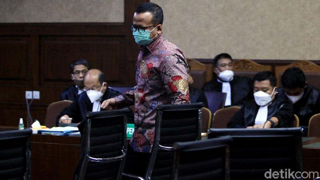 Edhy Prabowo Bicara soal Nota Dinas Sekjen KKP Antam Novambar-Bank Garansi
