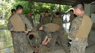 Marinir TNI AL dan Amerika Serikat Latihan Beri Pertolongan ke Korban Perang