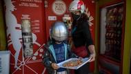 Menengok Vending Machine Pizza Pertama di Italia