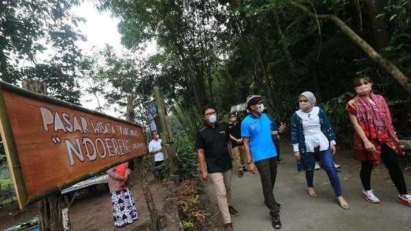 Desa wisata Pentingsari, Cangkringan, Sleman, DIY menyimpan segudang pesona.