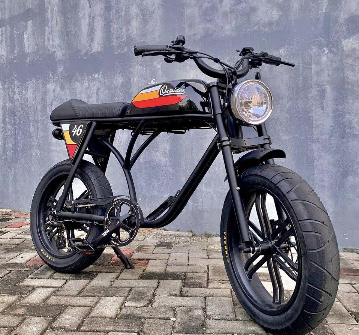 Outsider sepeda listrik bergaya vintage asal Australia