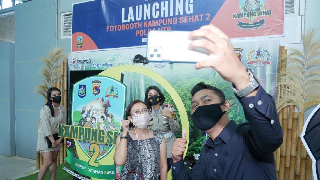 Kasat Lantas Lombok Barat Promosikan Kampung Sehat 2 di Medsos