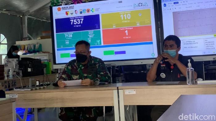 Penyekatan di Jembatan Suramadu digelar di dua sisi yakni sisi Bangkalan dan Surabaya. Hingga saat ini ada 150 warga yang dinyatakan positif COVID-19 melalui swab PCR.