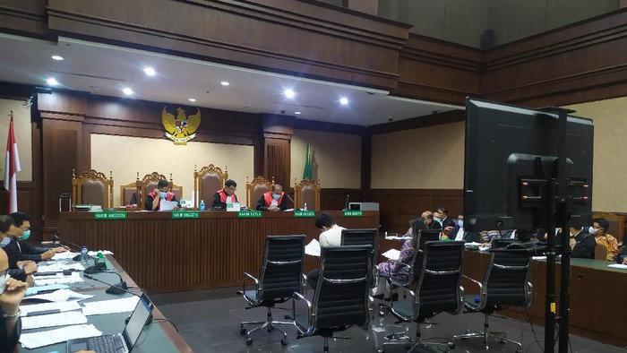 Sidang kasus suap Edhy Prabowo, Selasa (8/6)-Luqman/detikcom