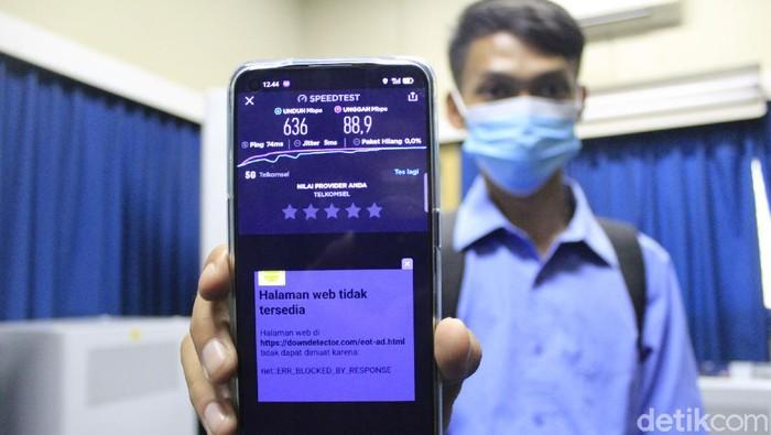 Uji Kualitas Jaringan 5G di Bandung di ITB dan Telkom University
