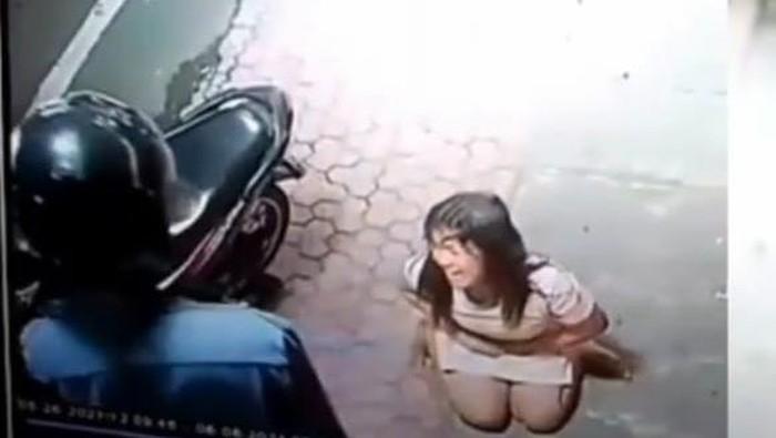 viral penganiayaan perempuan