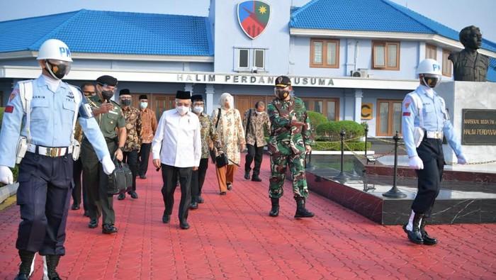 Wapres Maruf Amin melakukan kunjungan kerja ke Tasikmalaya hari ini