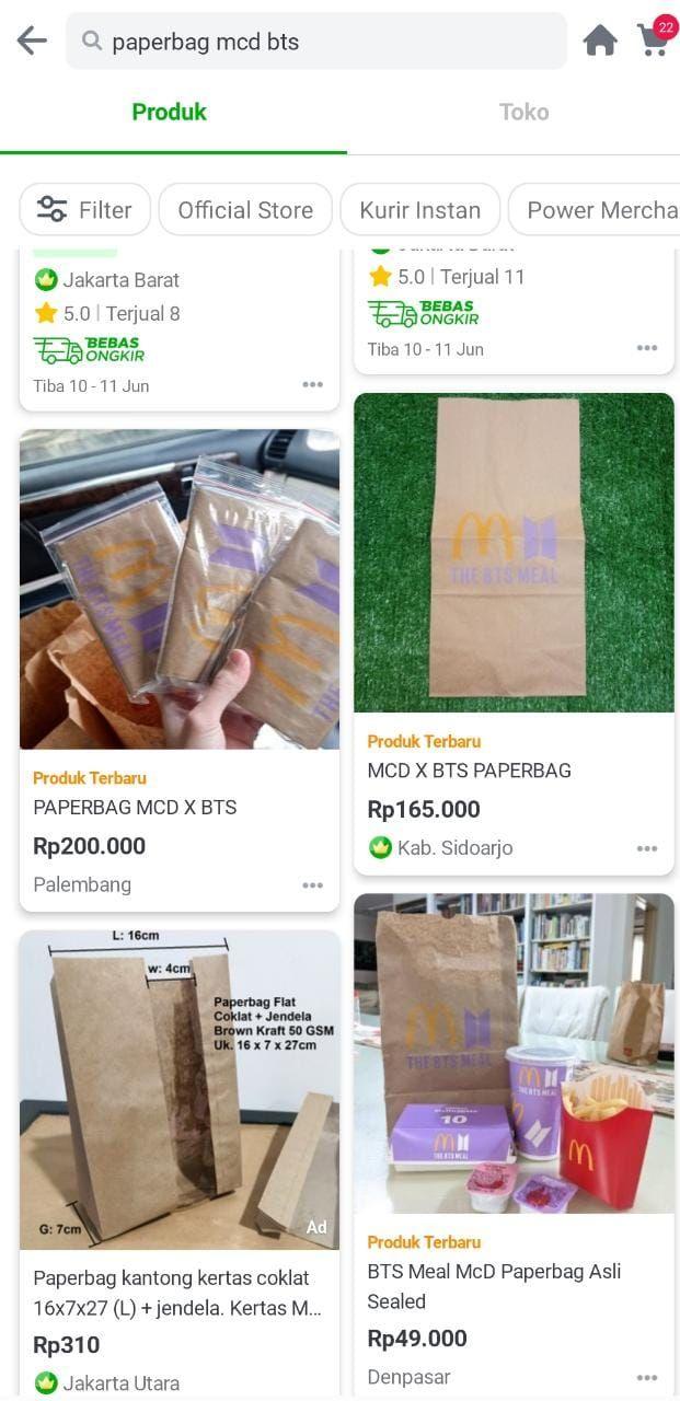 bts meal paperbag