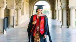 Maudy Ayunda Wisuda Stanford Pakai Kebaya, Desainer Ungkap Filosofinya