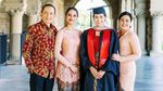 Maudy Ayunda Rayakan Kelulusan S2 di Stanford University dengan Kebaya