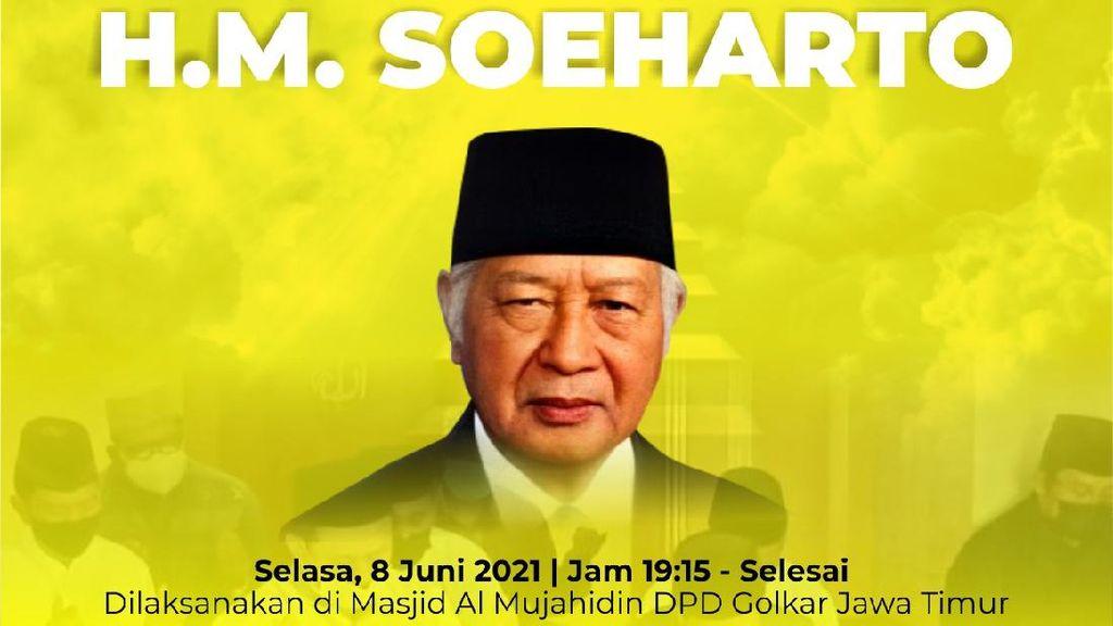Golkar Jawa Timur Kenang Soeharto: Mikul Dhuwur Mendhem Jeru