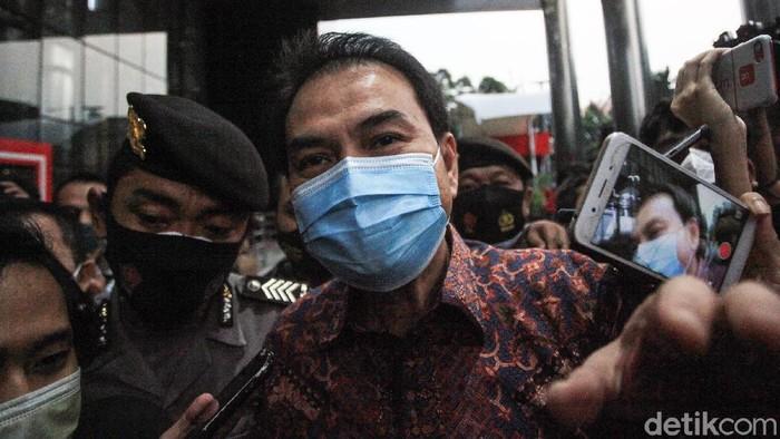 Wakil Ketua DPR RI Azis Syamsuddin diperiksa KPK sebagai saksi terkait kasus suap yang melibatkan Walkot Tanjungbalai.