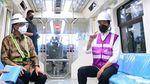 Jokowi Jajal LRT Jabodebek