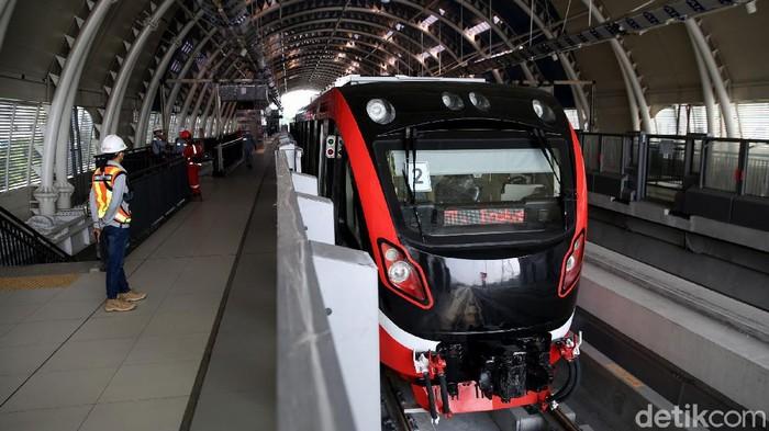 Spesifikasi Kereta LRT Jabodebek yang Tabrakan di Cibubur