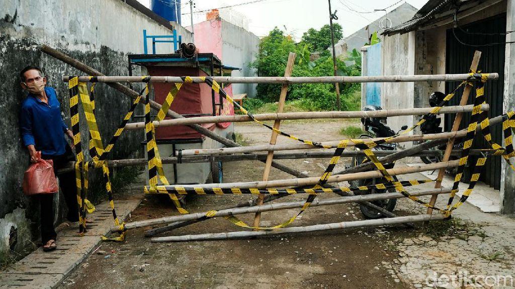 Gang di Tangerang Dilockdown Gegara Klaster COVID-19