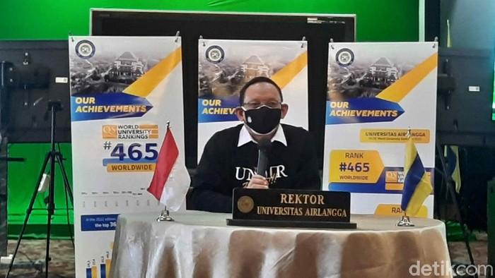 Rektor Unair Prof Dr Mohammad Nasih
