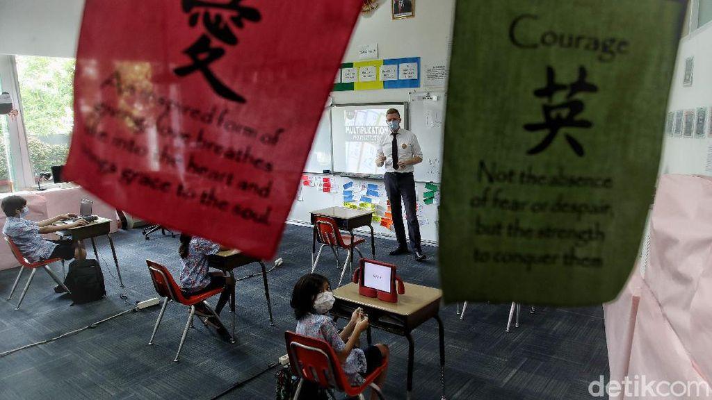 Seperti Ini Prokes Tatap Muka di Sekolah Internasional
