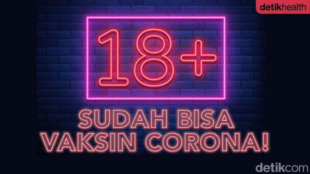 Gaskeun! Vaksin Corona 18+ Sudah Bisa untuk Bandung Raya dan Jabodetabek