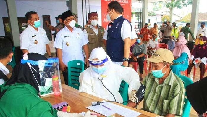 50 Persen target Vaksinasi COVID-19 Lansia Dicapai Banyuwangi