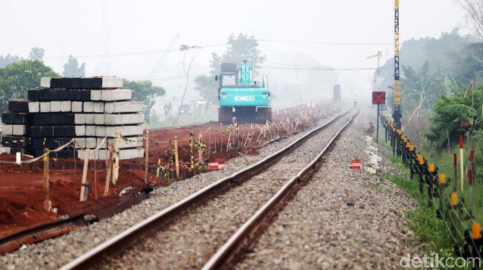 Pembangunan rel kereta api ganda atau double track Kiaracondong-Cicalengka terus dipercepat. Sejauh mana progres pembangunan proyek ini?