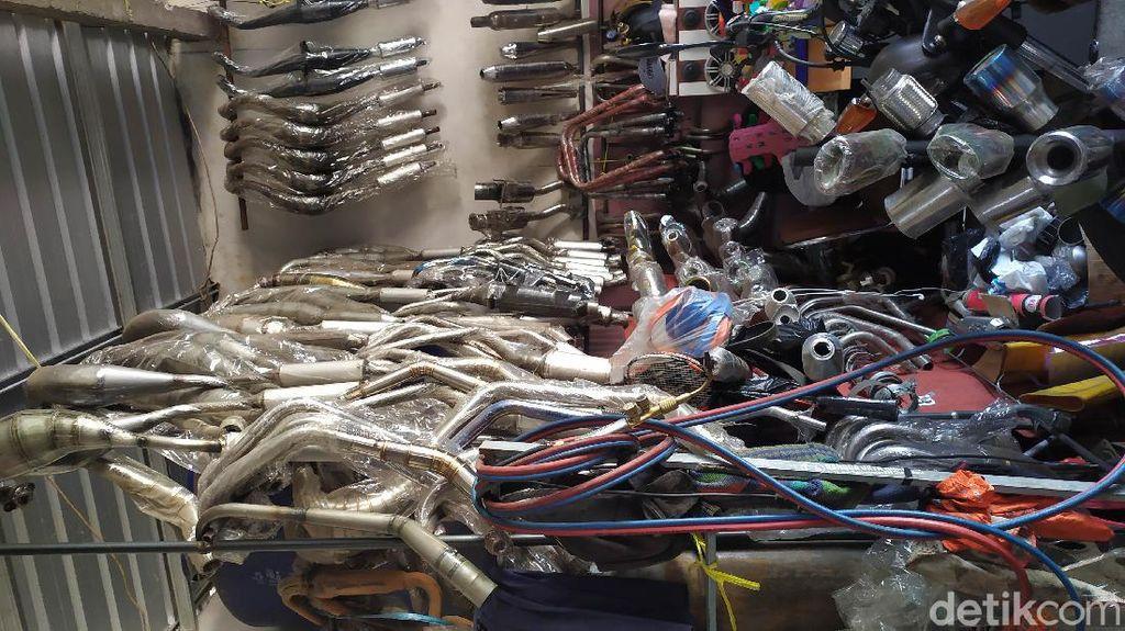 Ribuan Kendaraan Knalpot Bising di Jabar Ditindak Sejak Awal Tahun