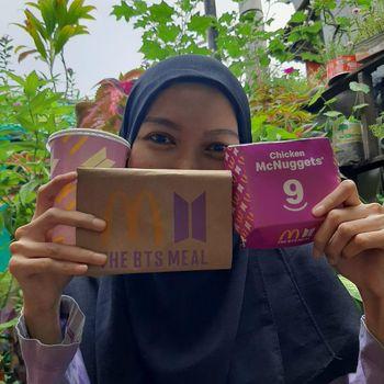 BTS Mela McDonald's