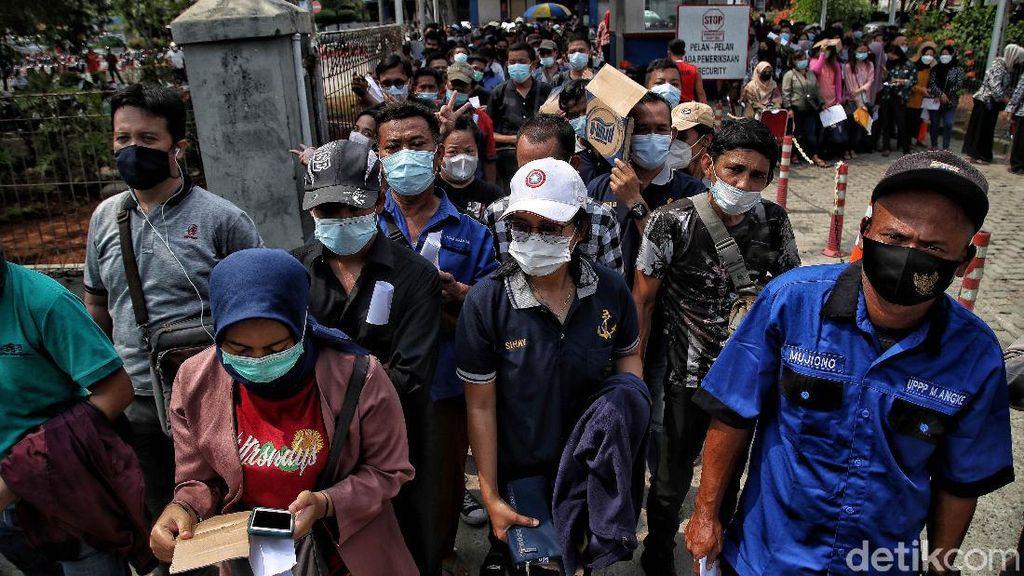 Ada Vaksinasi Massal, Pelabuhan Sunda Kelapa Ramai Didatangi Warga