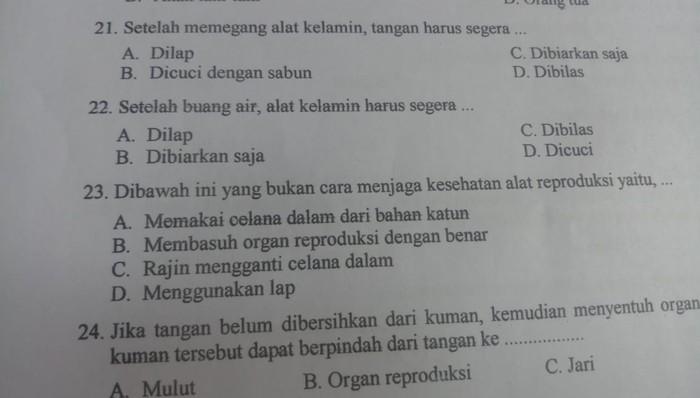 Heboh soal ujian siswi SD di Sukabumi bahas ganja hingga alat kelamin
