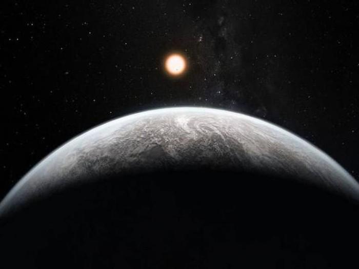 Ilustrasi exoplanet TOI-1231 b