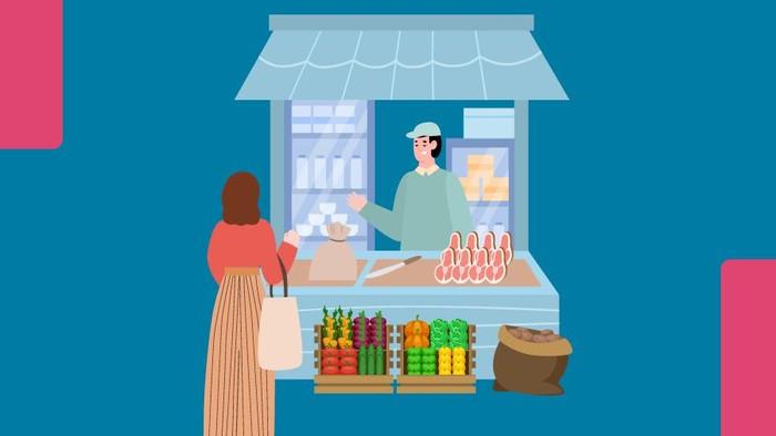 Infografis daftar bahan pangan bakal kena pajak