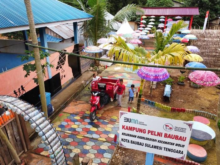 PT Pelayaran Nasional Indonesia atau PT PELNI (Persero) kembali membangun Rumah Kelola Sampah (RKS) di Sulawesi Tenggara. Seperti apa sih penampakannya?