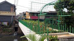 Jembatan Kota Paris Jadi Taman, Lurah Minta Bantuan Aparat Cegah Tawuran