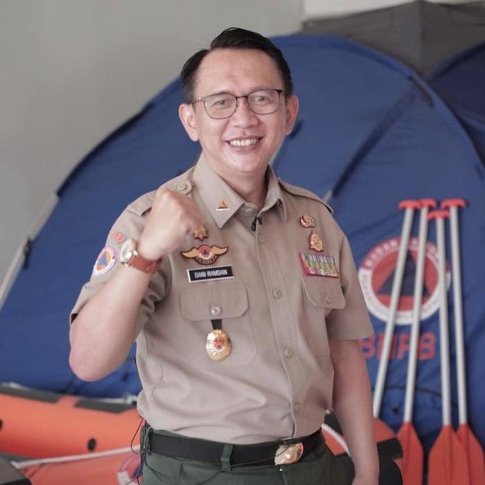 Kepala Pelaksana BPBD Provinsi Jabar Dani Ramdan