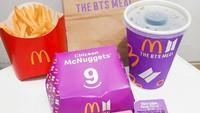 Ini Makna Warna Ungu dan Bentuk Nugget pada BTS Meal