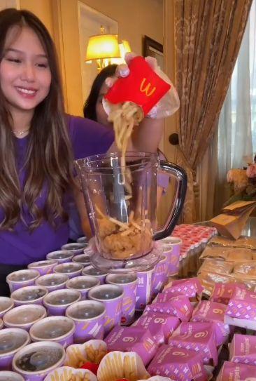 Sisca Kohl Borong BTS Meal Buat Dibikin Es Krim